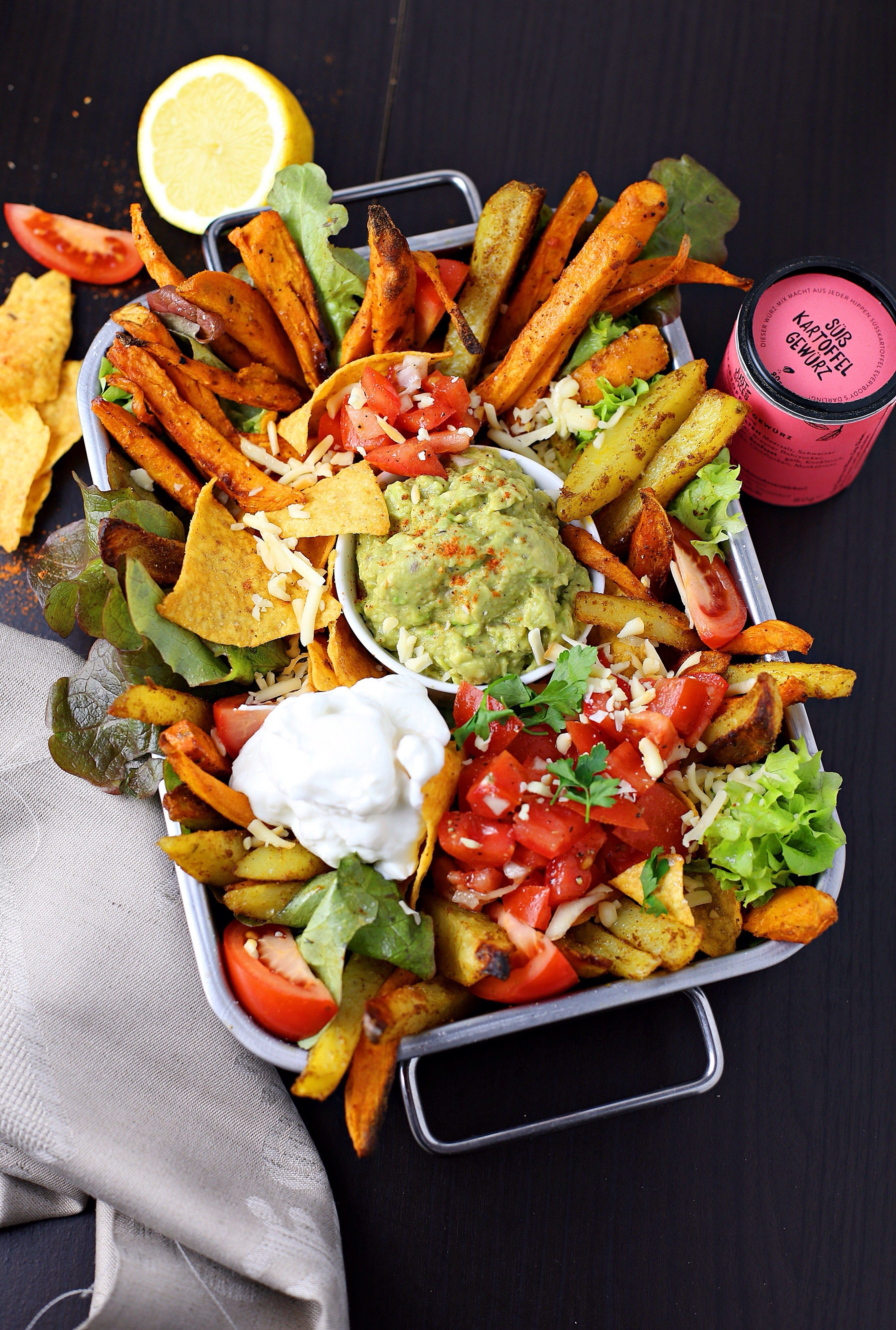Party Bowl for 2 | Lebensmittel essen, Abendessen ideen