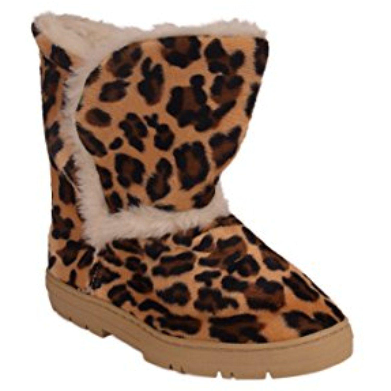 Snooki's Leopard Slipper Boot - 2
