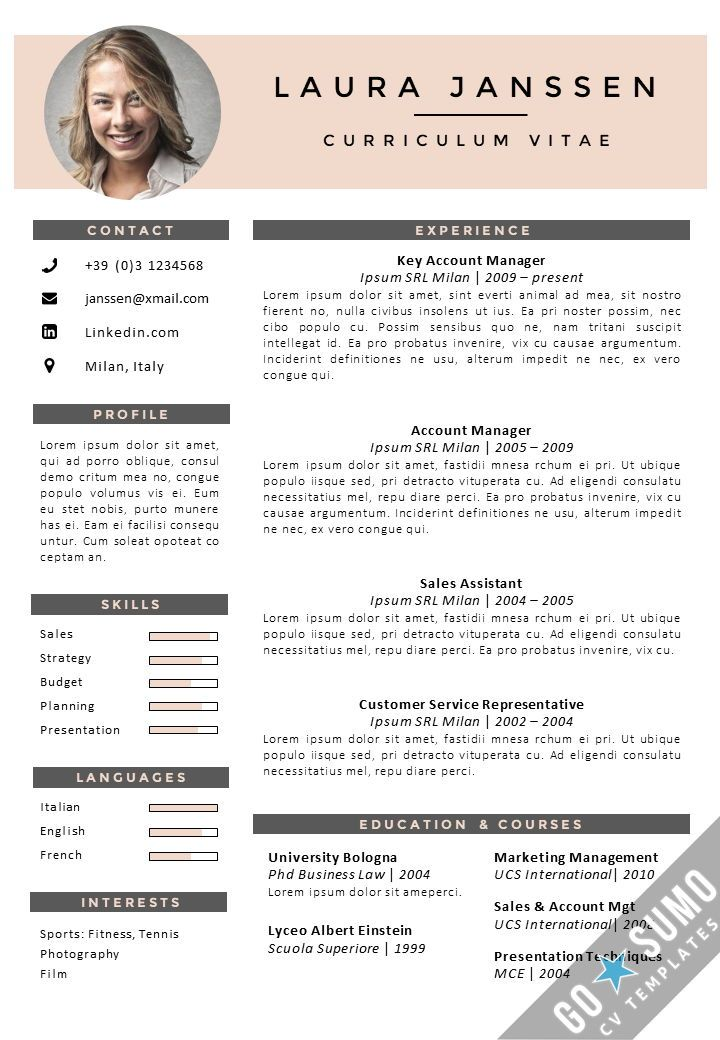 Cv Template English - Cv template, Downloadable resume template, Curriculum vitae, Resume templates, Creative cv template, Resume tips - CV Templates   Professional Curriculum Vitae Templates CV Template Vienna   Резюме   Pinterest   Cv template, Vienna and … Curriculum Vitae English Example Pdf Free Cv Template Curriculum … french cv