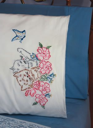 Pillowcases Embroidery Patterns