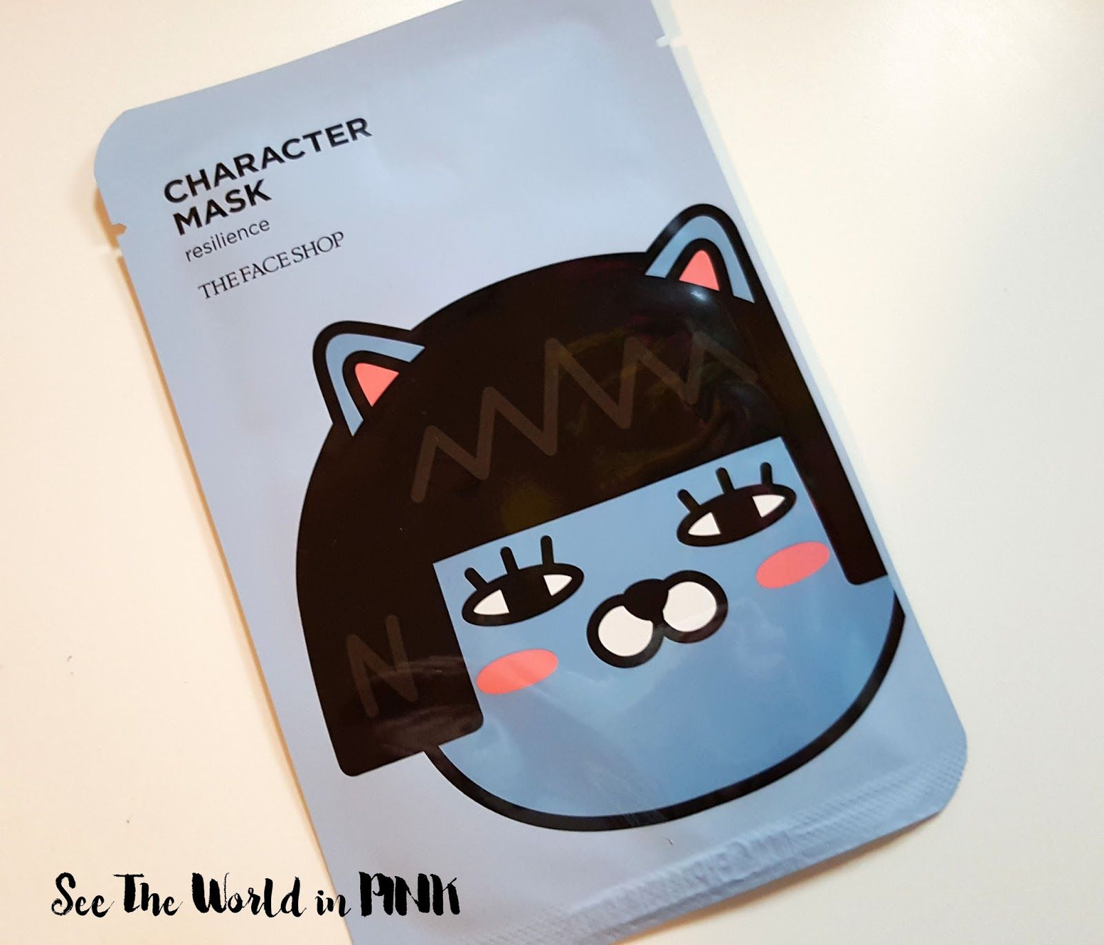 "Skincare Sunday - THEFACESHOP Character Mask Kakao Friends ""Neo"""