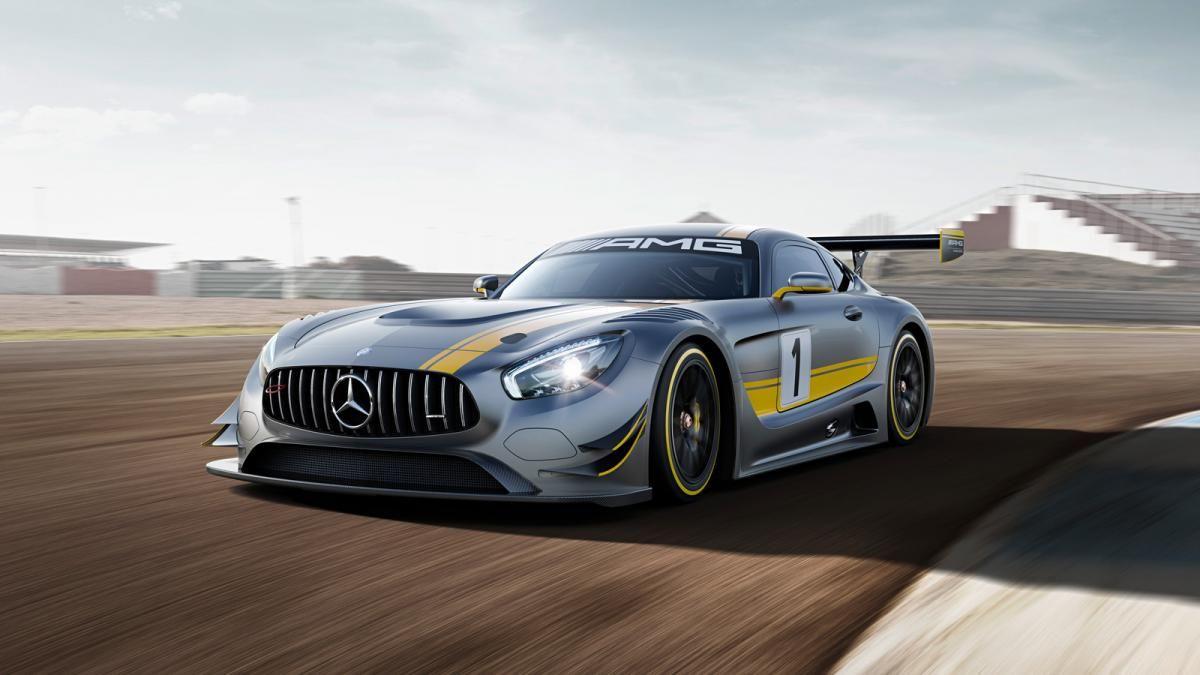 2016 Mercedes Amg Gt3 Gets The Sls S 6 2 Liter V8 Side Pipes And