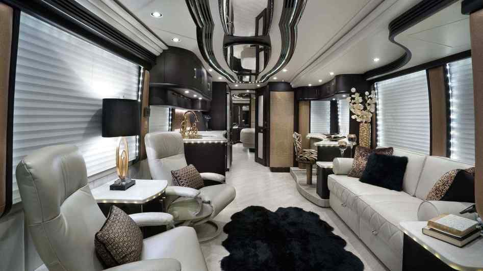 Tour Bus Interior Luxury Rv Coaches Inspirational The World S Top