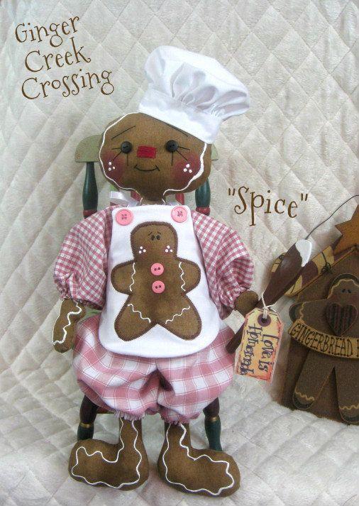 Gingerbread Lady Gingerbread Lady Crafts Gingerbread