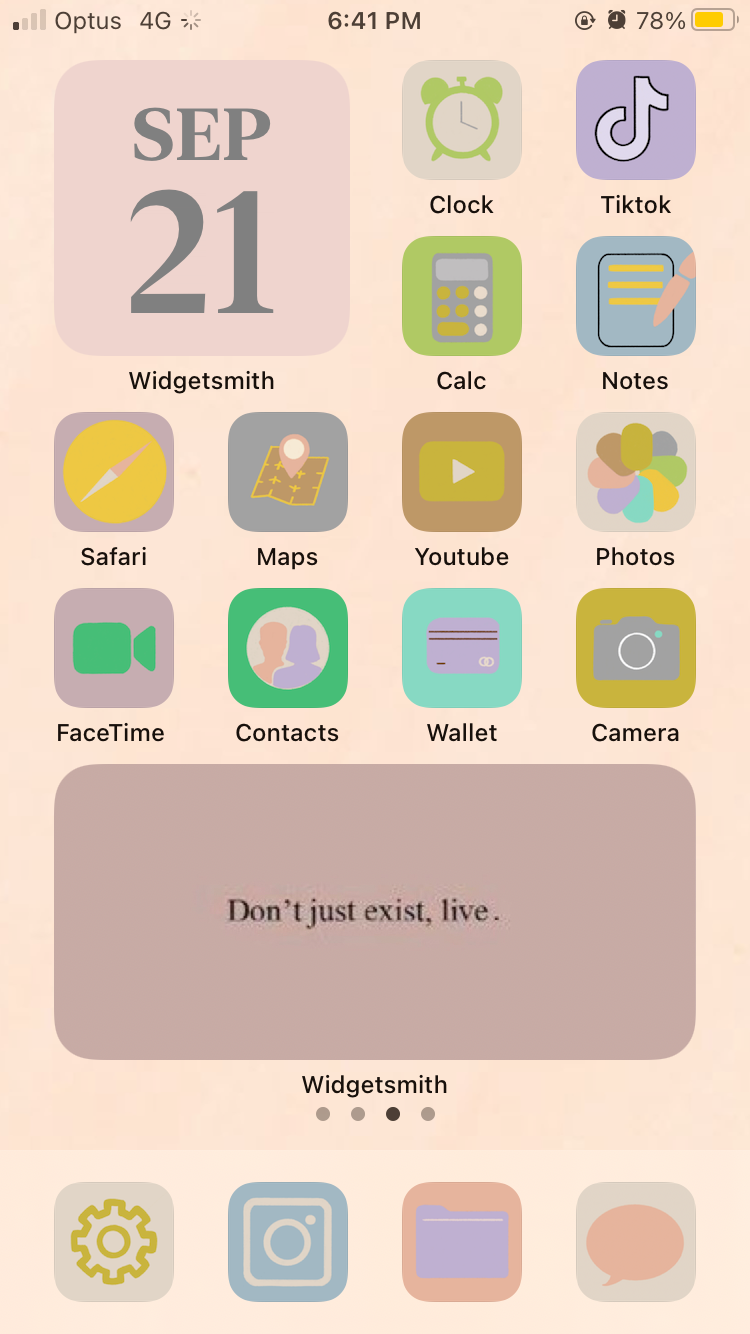 Bright Pastel Ios 14 App Cover Bundle Customisable App Icons App Covers For Iphone Ipad In 2020 Iphone App Layout Homescreen App Covers