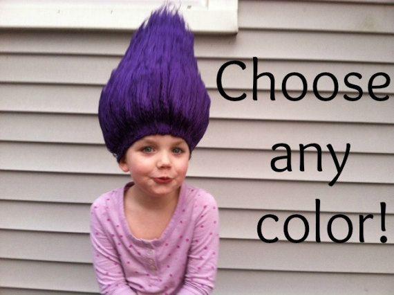 Halloween costume Kids costume Toddler Halloween Troll | crochet ...