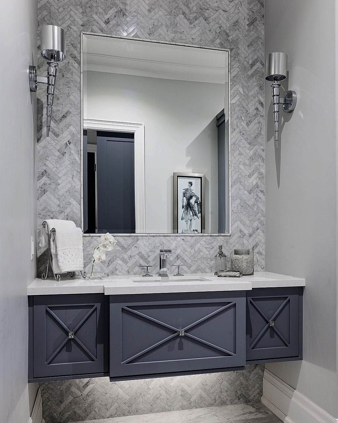 Beautiful Masculine Powder Room Ideas Only On This Page