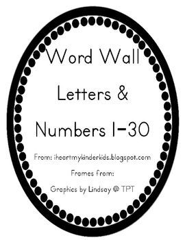 Word Wall Letters Black and White 2019 Fitness peak fitness #fitness #White
