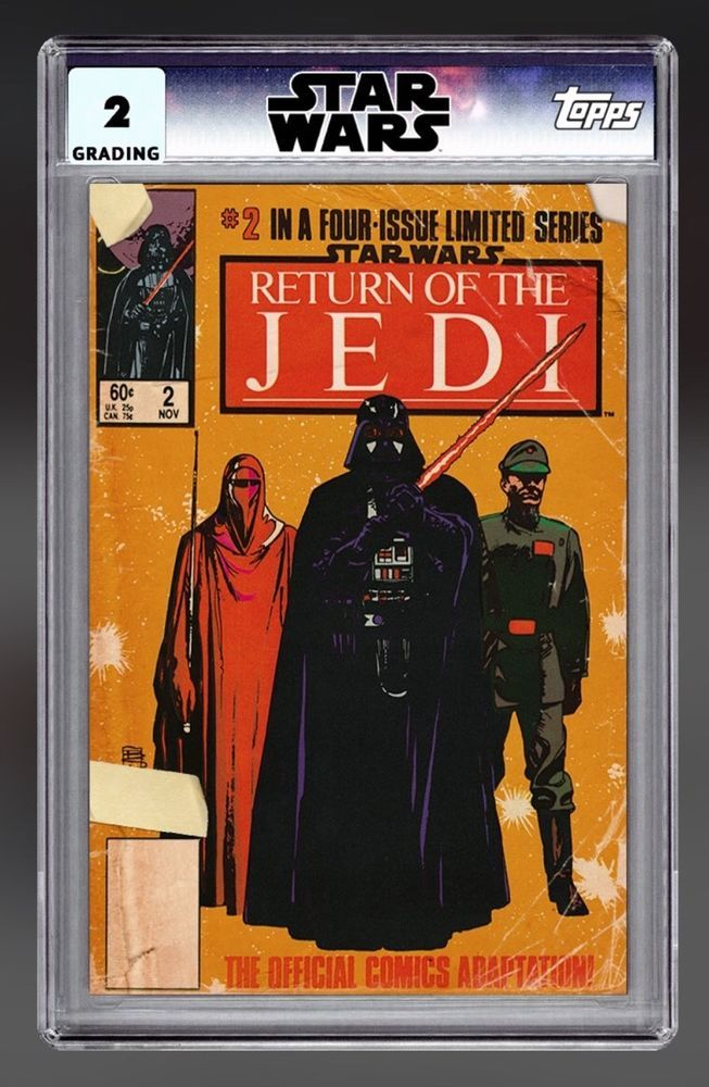 Star Wars Card Trader Digital Insert Classic Comics Return of The ...