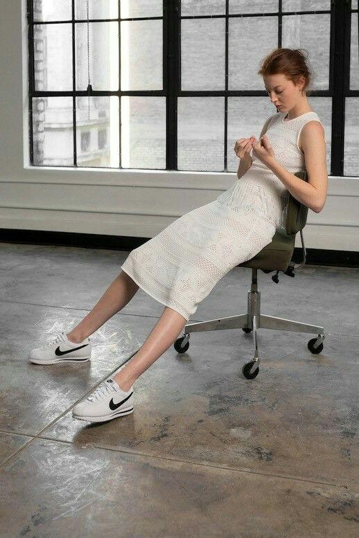 SneakersVestido Con With Dress ZapatillasOutfts Midi 35L4AjqcR