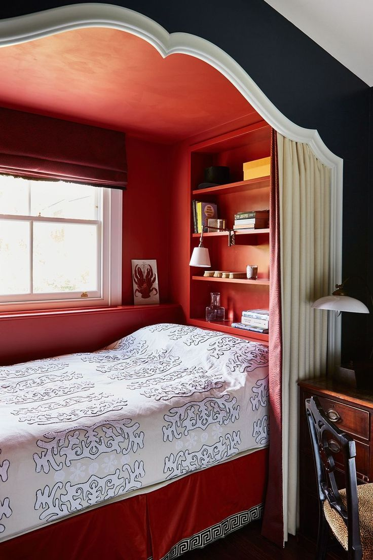 Best Small Room Ideas Alcove Bed Built In Bed Bed Nook 400 x 300