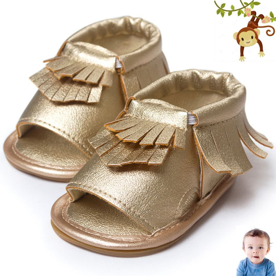 207bd51eea Baby Sandals Newborn Baby Girl Sandals Summer Baby Shoes Casual Fashion  Sandals For Girls PU Baby Sandals