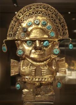005 Inti, de zonnegod van de Inca's werd vaak in kunst