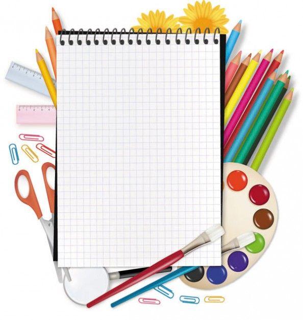 Freepik Graphic Resources For Everyone School Scrapbook School Equipment School Clipart
