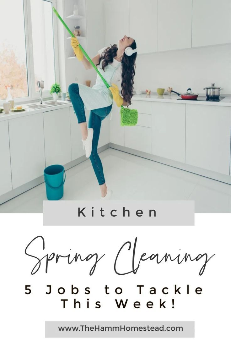 Time to deep clean your kitchen. This blog post has the 5 spots you can clean to make a huge impact this spring. Spring cleaning tips | spring cleaning checklist | spring cleaning kitchen | deep clean | cleaning tips #springcleaning #deepclean #simplifymylife #organize