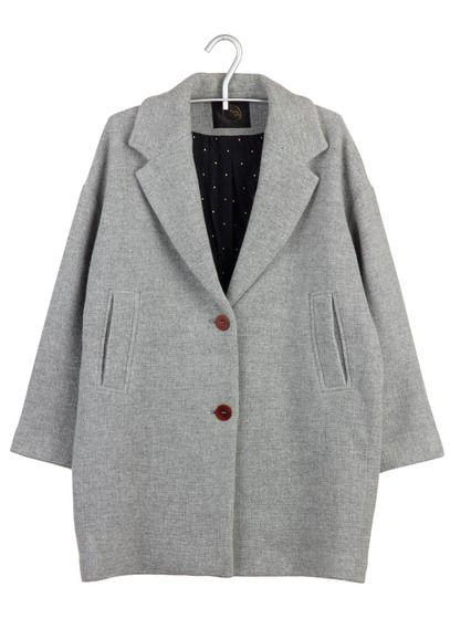 Manteau gris trafaluc