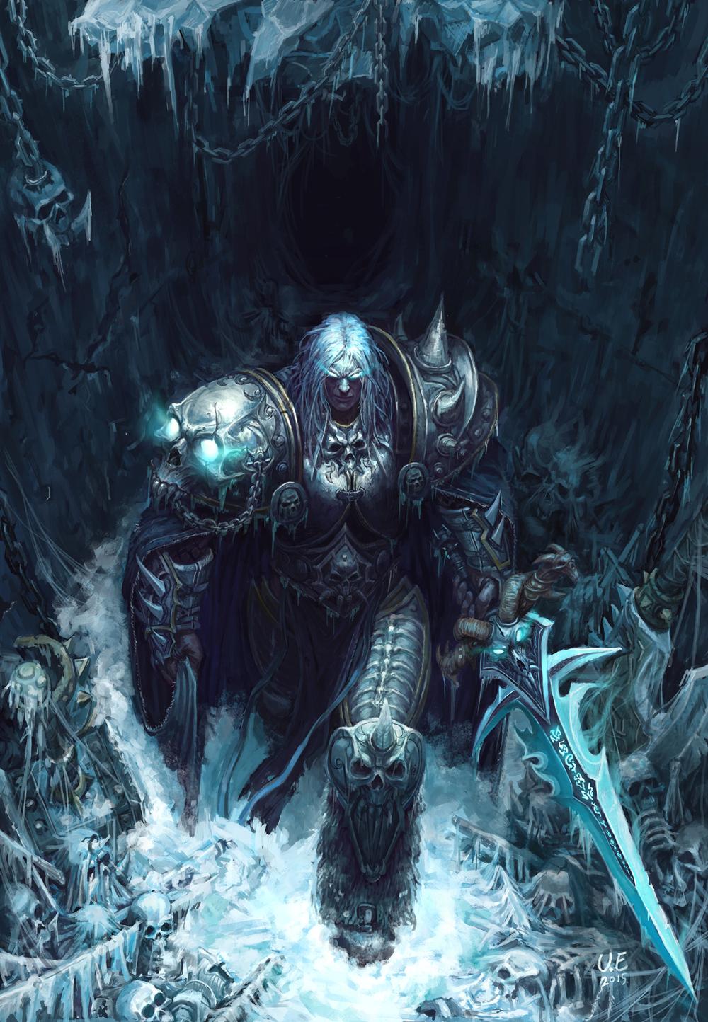 Artstation Lich King Arthas Younghun Byun Warcraft Art Warcraft Iii Lich King