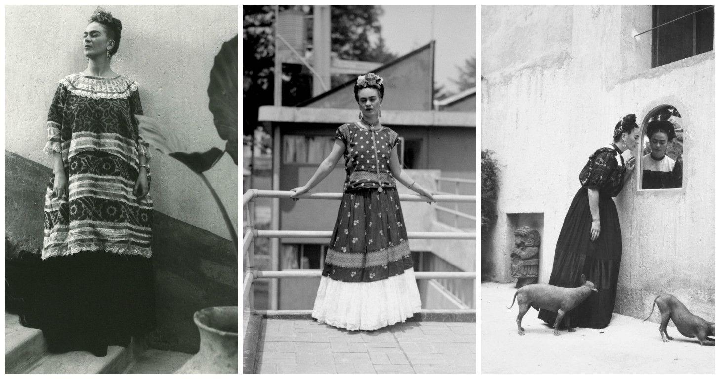 Фрида Кало и мода. Стиль Фриды Кало развивался и менялся вместе с ней всю ее жизнь.