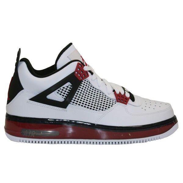 lowest price b5f32 26750 Nike Air Jordan Fusion 4-Black Red