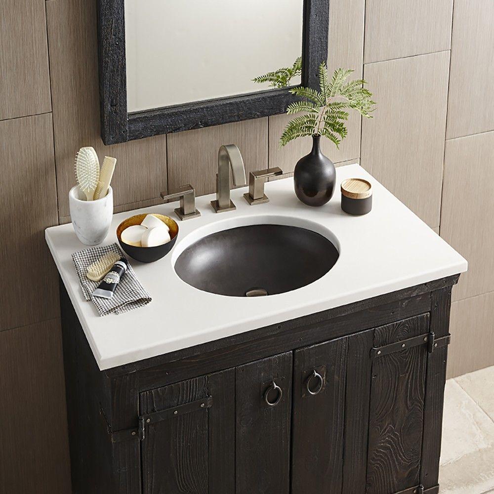 tolosa nativestone bathroom sink native trails