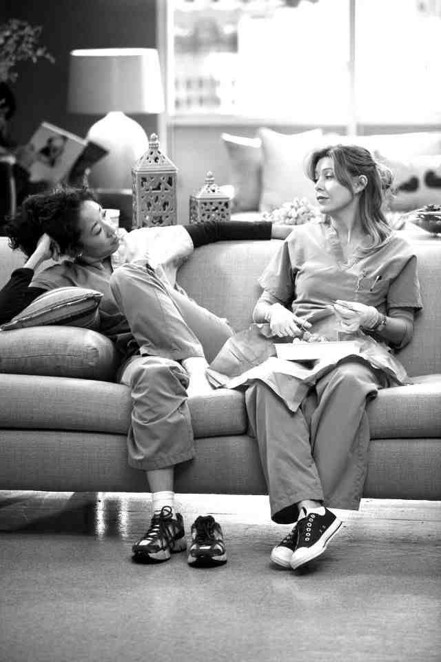 Grey's Anatomy- Dermatology scene