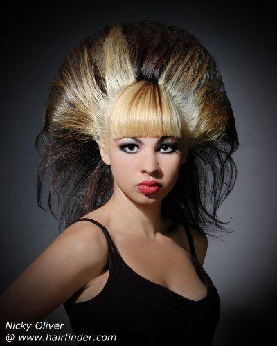 Wild Hairdo Hair Styles Natural Cornrow Hairstyles Crazy Hair