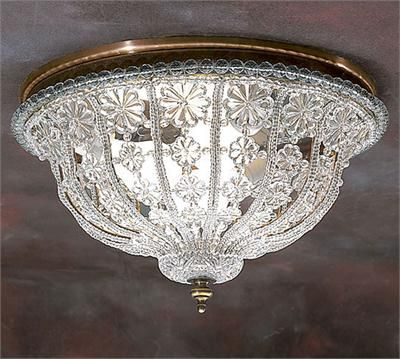 Ceiling Light From Decorative Crafts