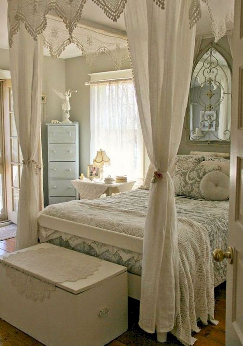 45 Stunning Shabby Chic Bedroom Decor Ideas | Shabby chic bedrooms ...
