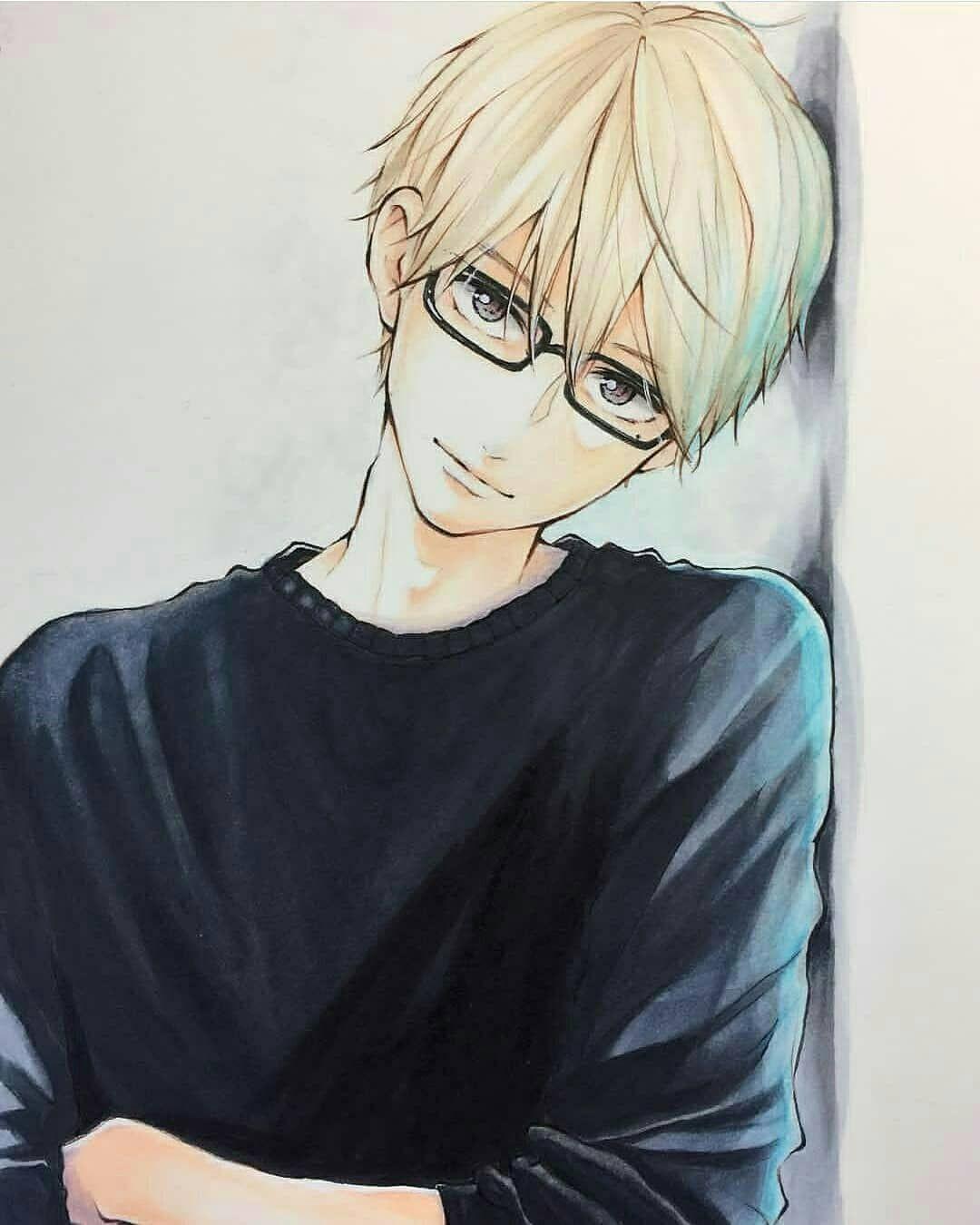 Art Daily Srill Yusril Dokuu Fotos E Videos Do Instagram Anime Glasses Boy Anime Cute Anime Guys