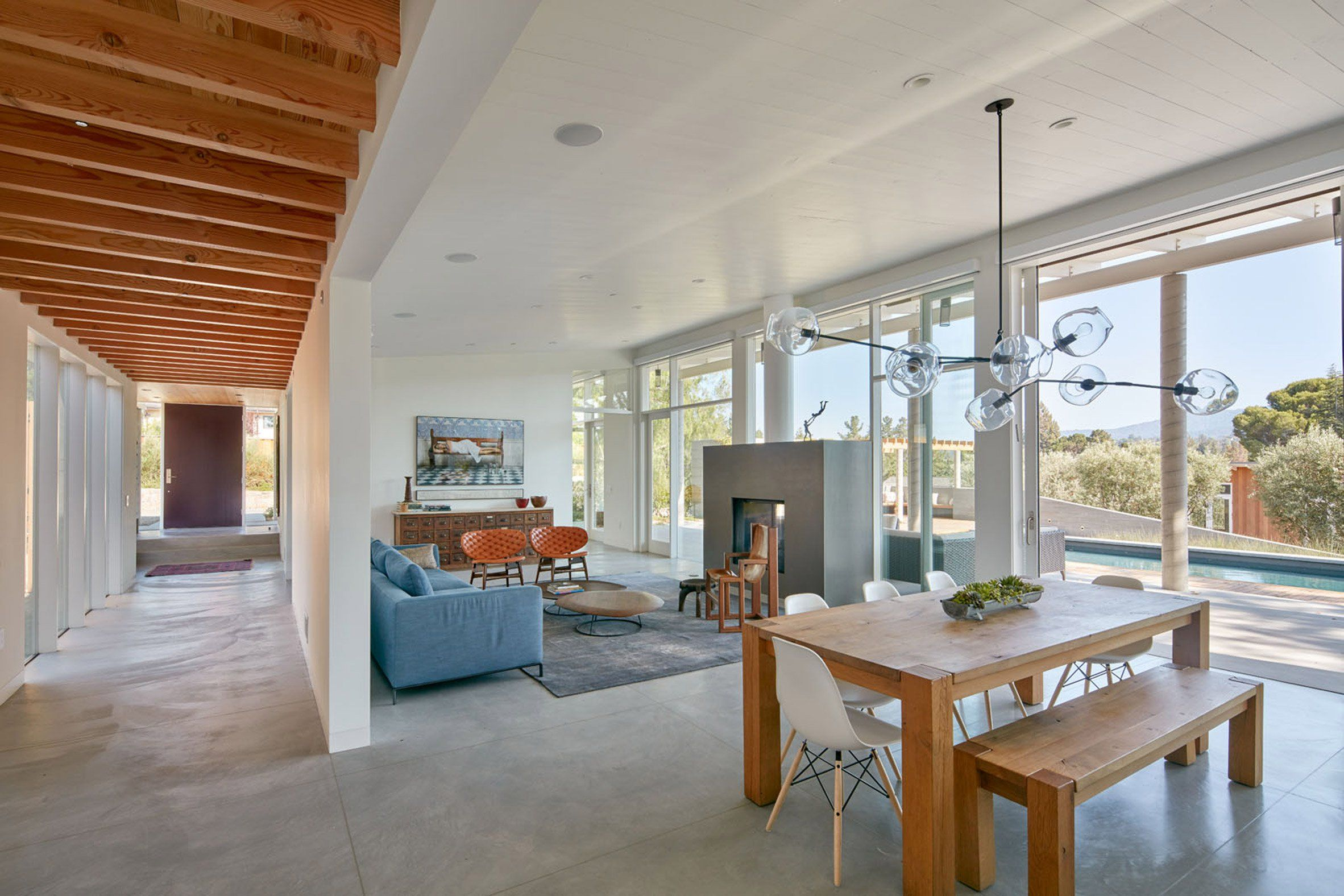 High Quality Providing Ample Outdoor Living Spaces Was A Guiding Factor In The Design Of  This Northern California