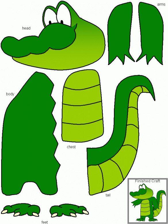 3561087772f3181beaa13fed98443874 Crocodile Craft Alligator Crafts 584x778 Pixels