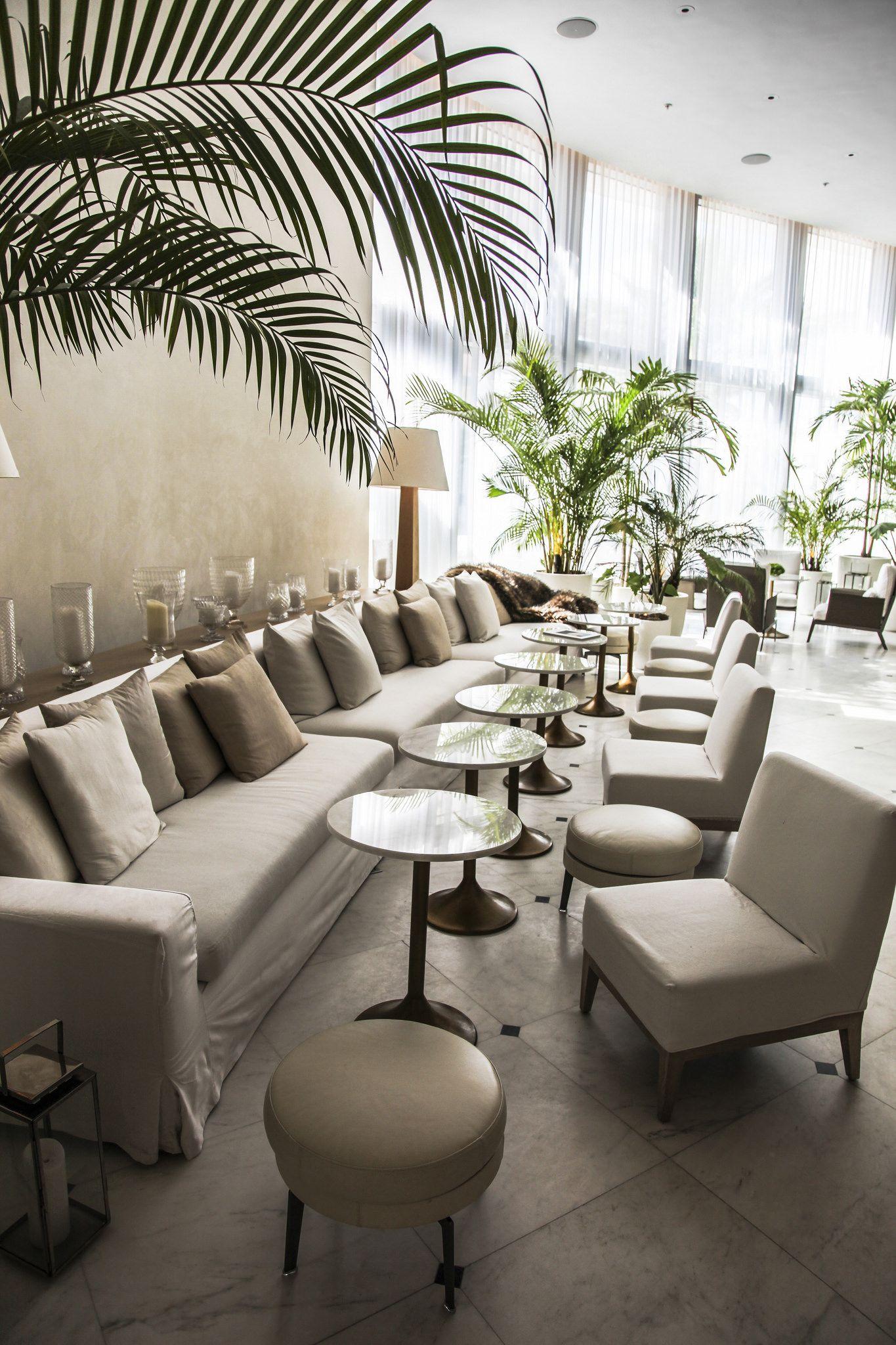 Miami Edition Hotel Modern Hotel Lobby Hotel Lounge Edition Hotel