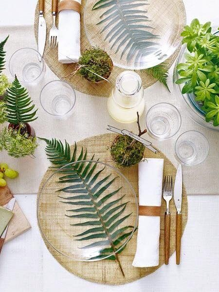 Palm Leaf table with glass tops give a modern atmosphere to the beach Perfectionism   homestaging