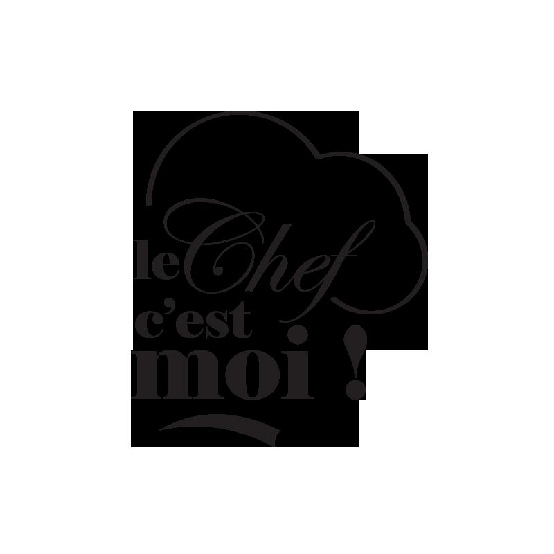 Autocollants adh sif de cuisine le chef toque cuisinier - Pochoir cuisine a imprimer ...
