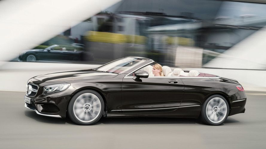 Refreshed 2018 Mercedes S Class Cabriolet Revealed The Mercedes Benz S Class Coupe Isn T The Only Grand Tourer Making I Mercedes S Class Benz S Class Benz S