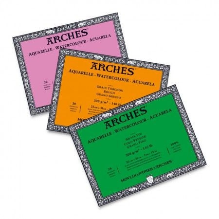 Now Available In New Sizes Arches Watercolor Blocks Are Full Of