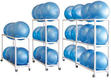 Fitness Ball Storage Carts Fitness Equipment Storage