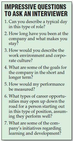 Questions To Ask During The Interview Useful Life Hacks