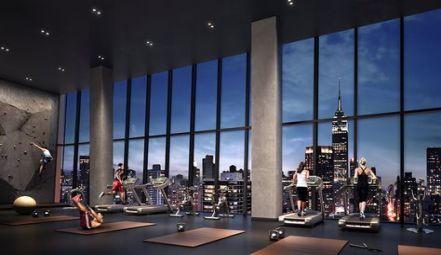 Best Fitness Gym Interior New York Ideas #fitness