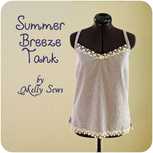 Summer Breeze Tank | Modified Dress Shirts | Pinterest | Blusas ...