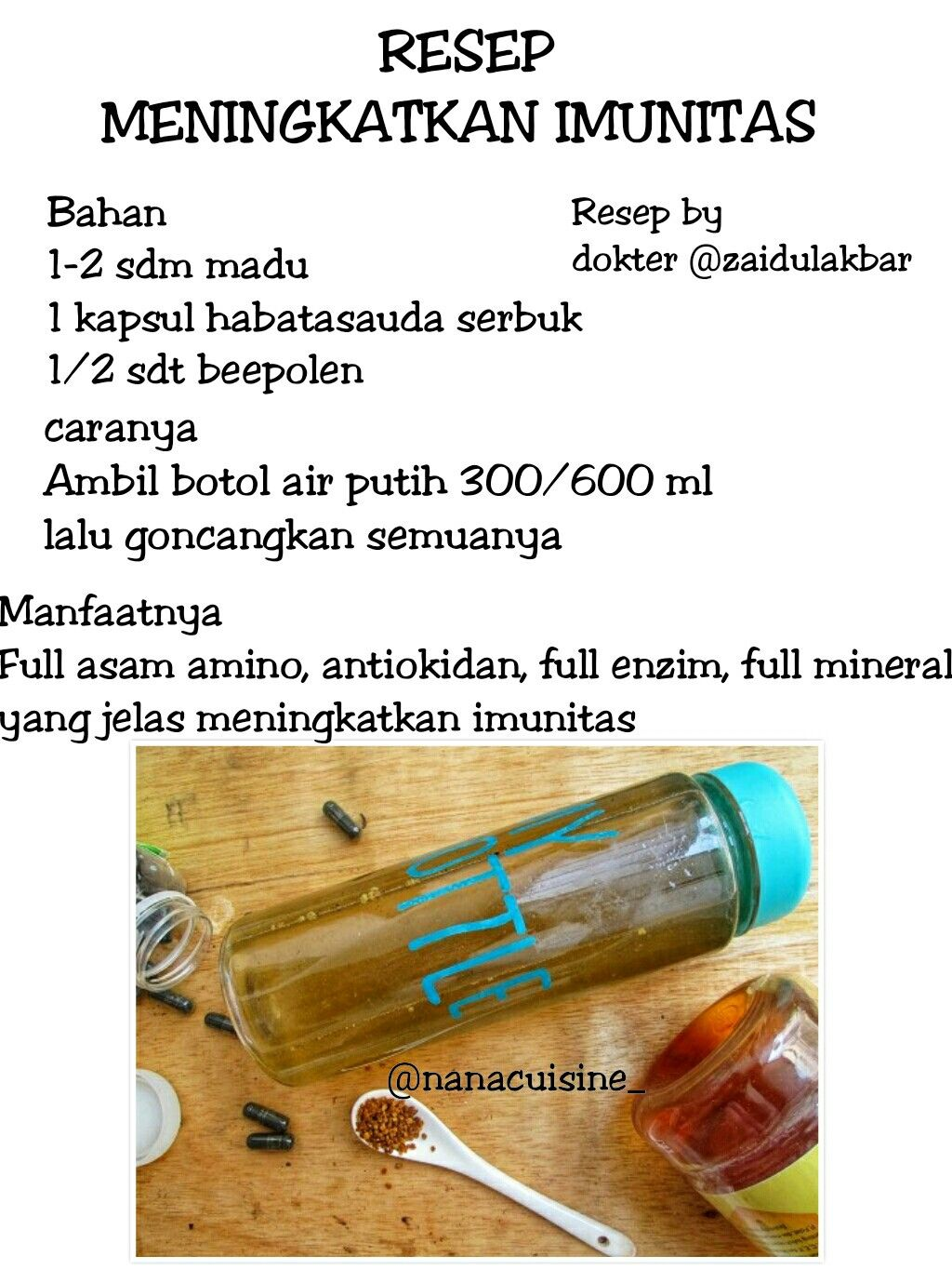 Pin Oleh Brenda Di Resep Jsr Minuman Sehat Obat Alami Kesehatan Alami