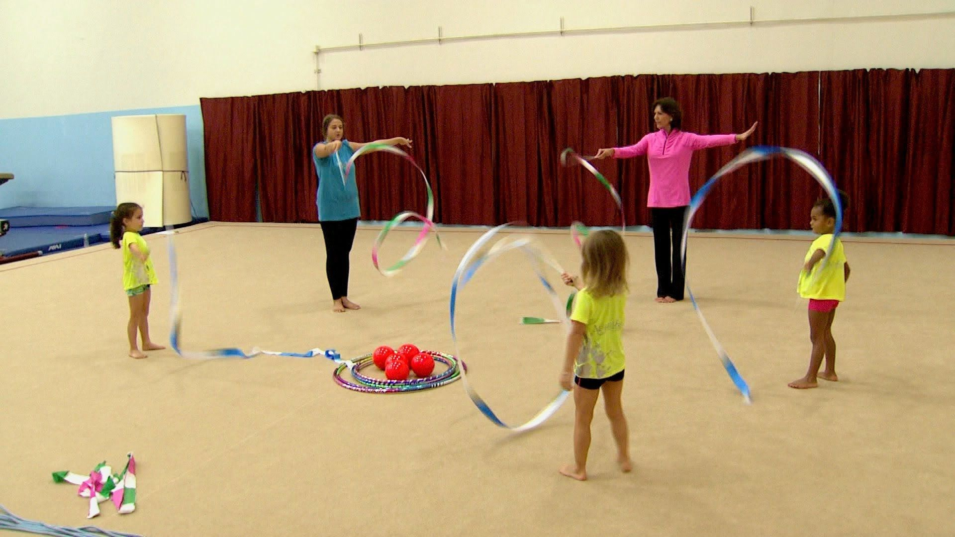 KidVision VPK Gymnastics Field Trip (With images