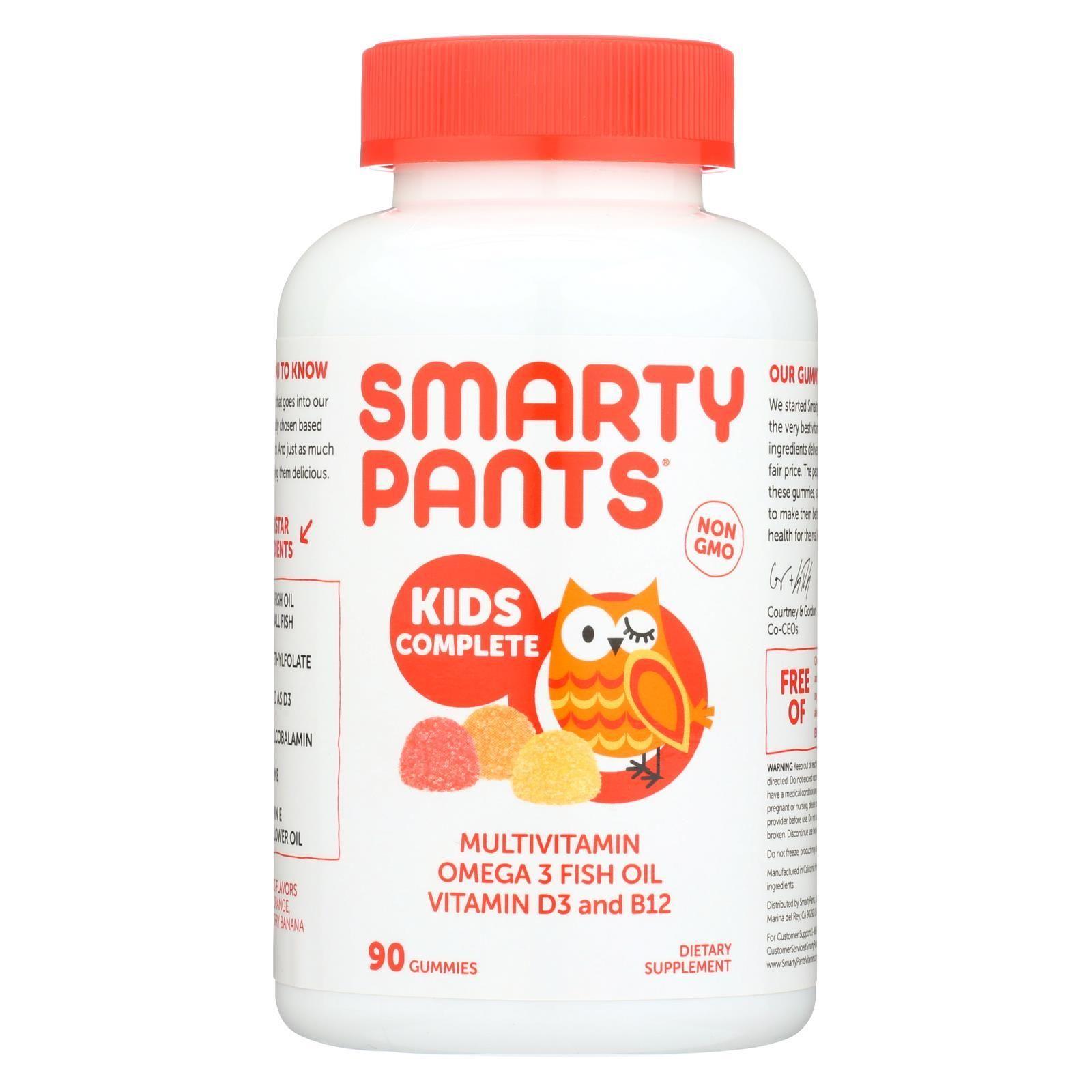 Smartypants Gummy Vitamin Multi Kid Complex 90 Count In 2021 Gummy Vitamins Fish Oil Vitamins Vitamins