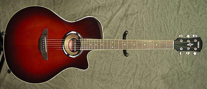 Rocket Music Yamahaapx500iidarkredburst Yamaha Acoustic Yamaha Acoustic Guitar Guitar