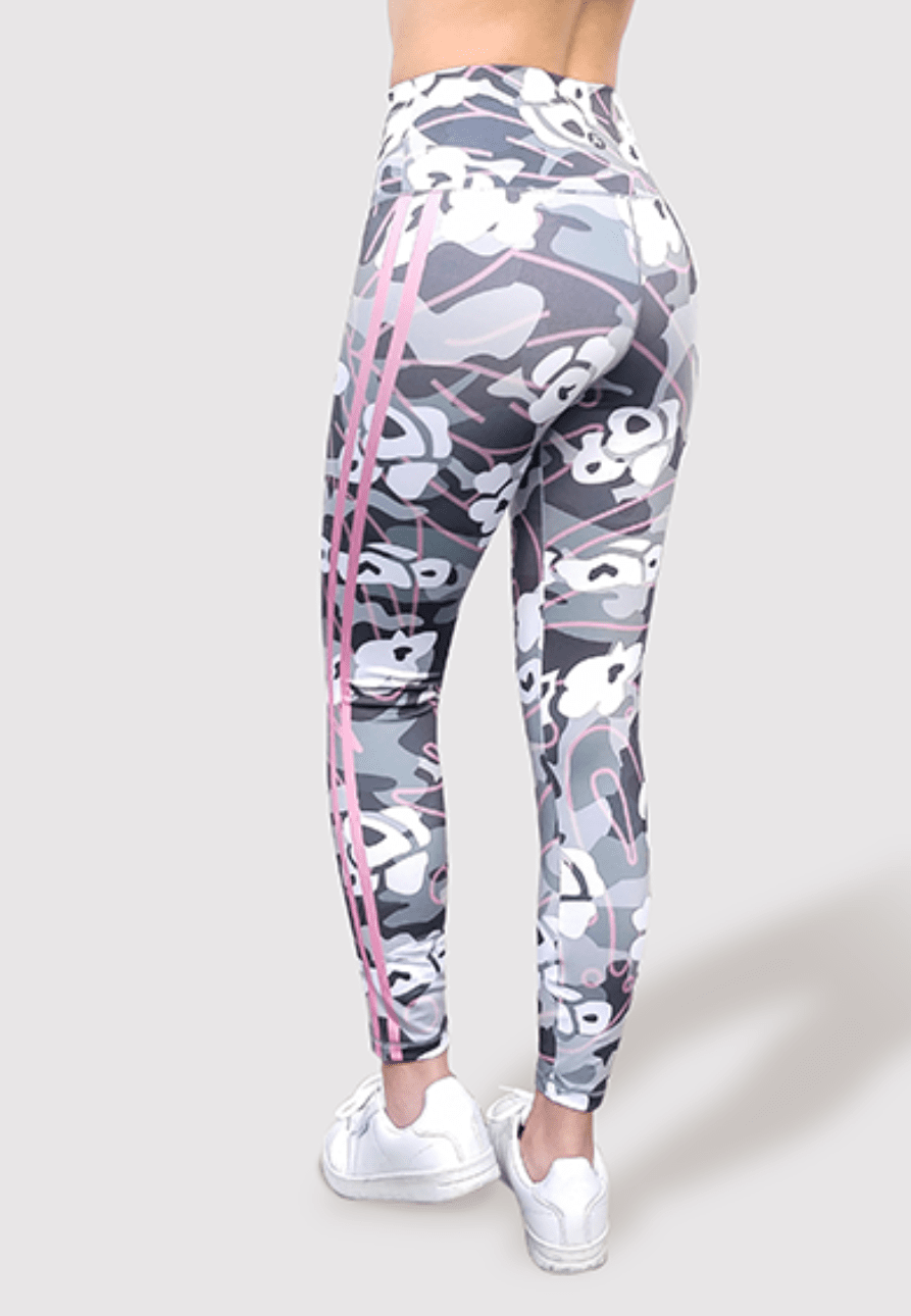 121b6ac2bfeb8 Active Fit Pink Striped Camo Legging in 2019 | Products | Camo ...