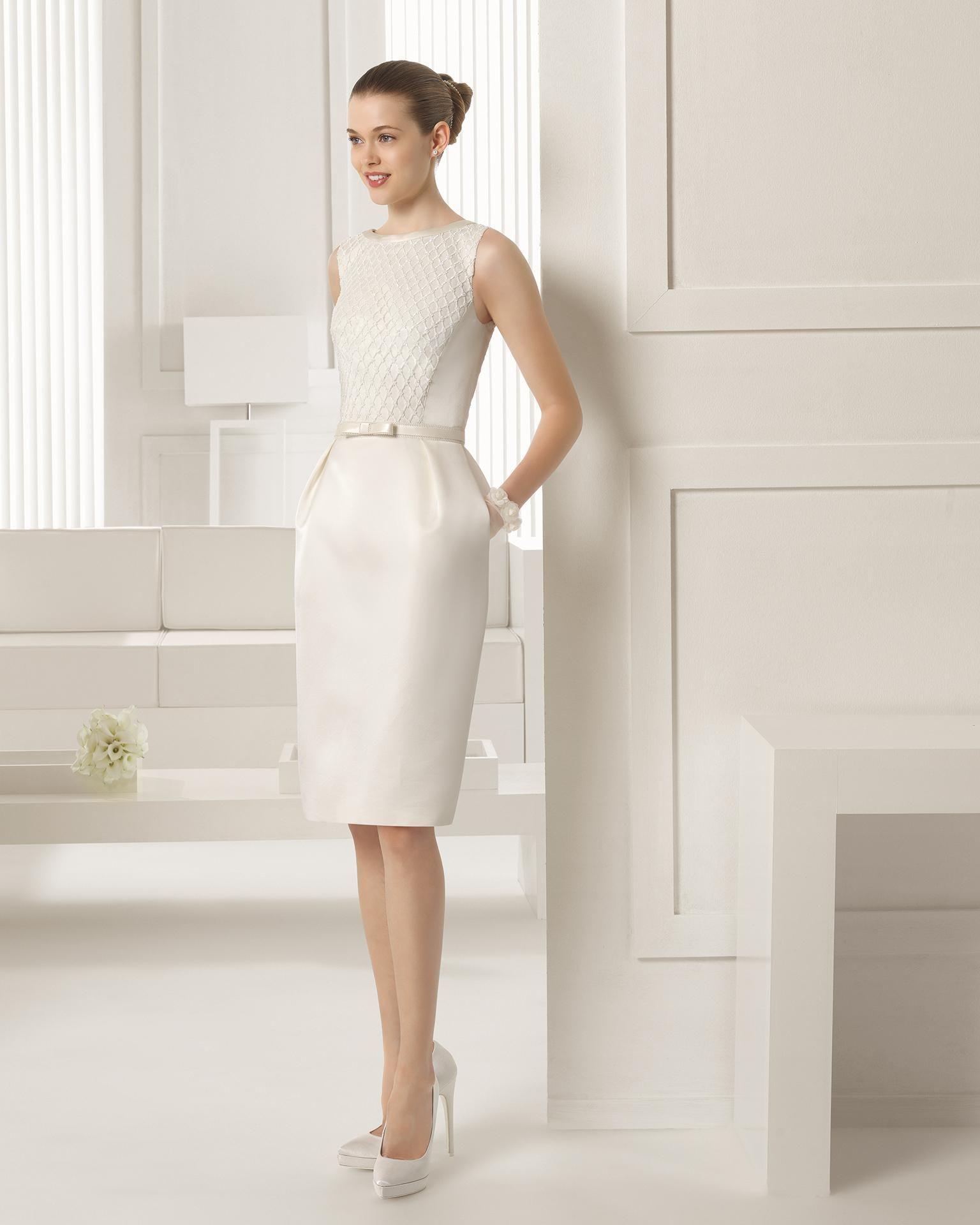 Cheap 2015 Wedding Dress Jewel Button Back Sleeveless Floor Length Or Mini Detachable Sash Sequin Satin Gown Dress FWY-0275, $166.5   DHgate.com