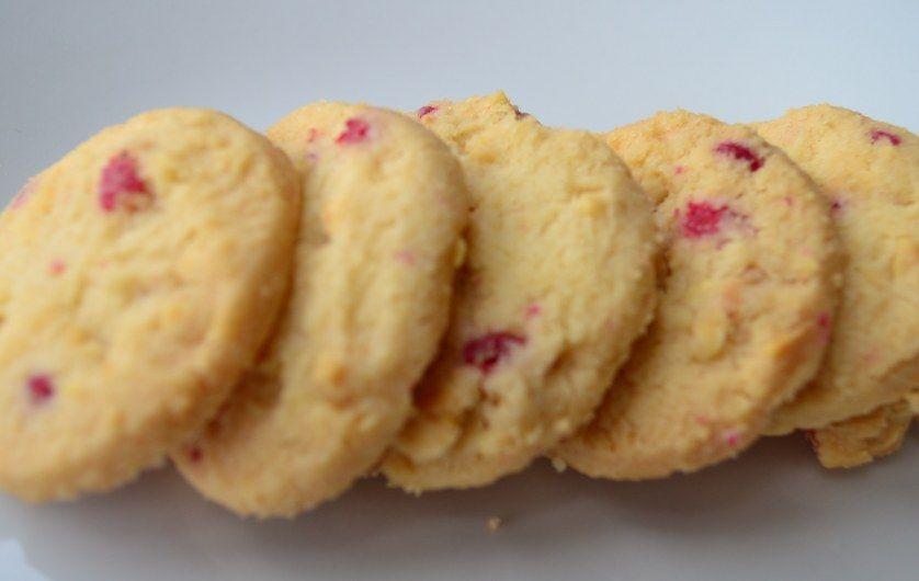 Biscoitos de rosa