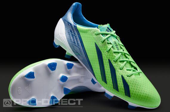 b73bd244b adidas Football Boots - adidas adizero F50 TRX FG SYN - Firm Ground -  Soccer Cleats - Green Zest-Dark Blue-Joy Blue