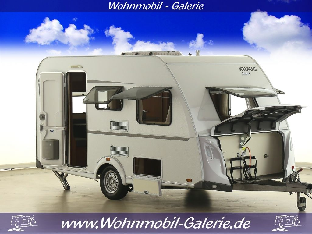 Wohnwagen Mit Etagenbett Test : Knaus sport 400 lk etagenbett 5 95m lang wohnwagen