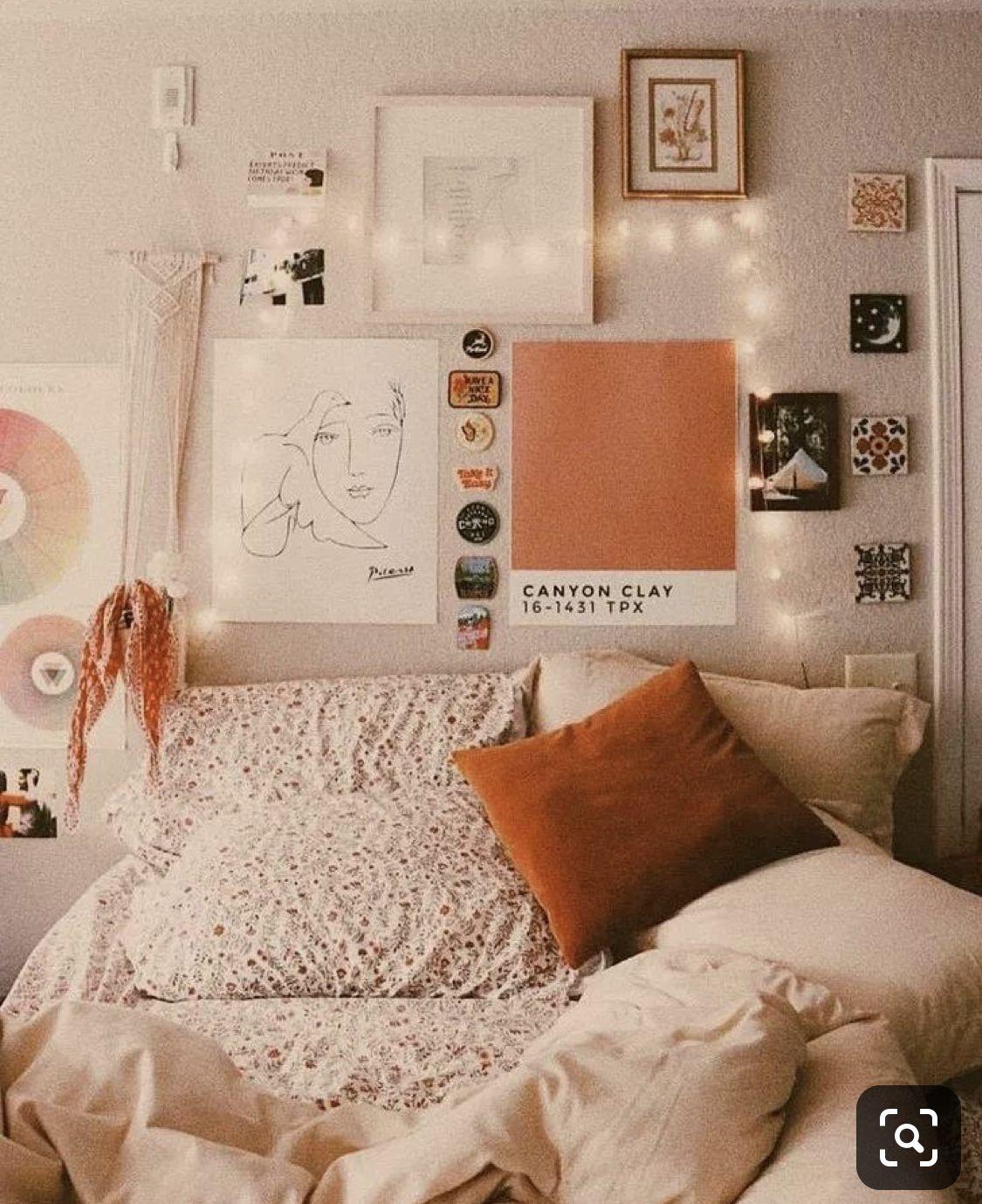 This Orange I Can T Dorm Room Decor Room Inspiration Dorm Room Inspiration